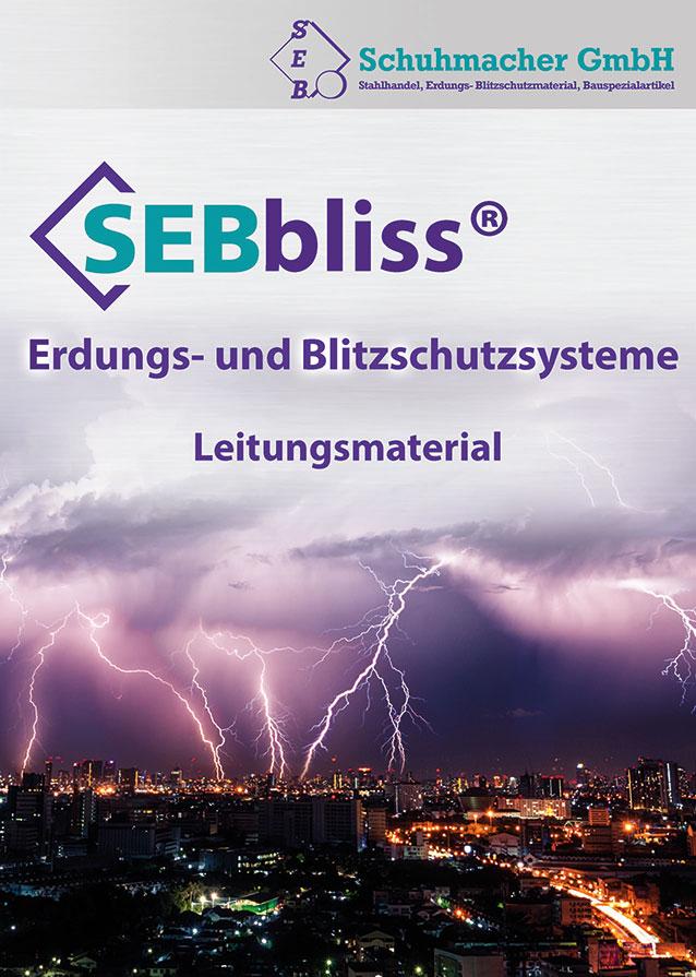 SEBbliss Erdungs- und Blitzschutzsysteme - Leitungsmaterial