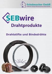 SEBwire Drahtprodukte - Drahtstifte und Bindedrähte