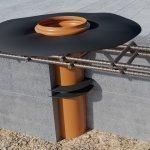 Einbau SEBflex® Bodendurchführung mit Folienflansch